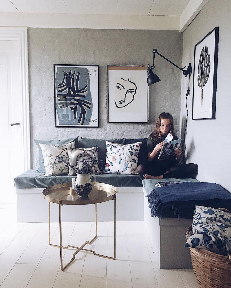 Scandinavian Home Design Looks So Charming With Eclectic: A Danish Home With Dusty Hues And A Homespun Feel
