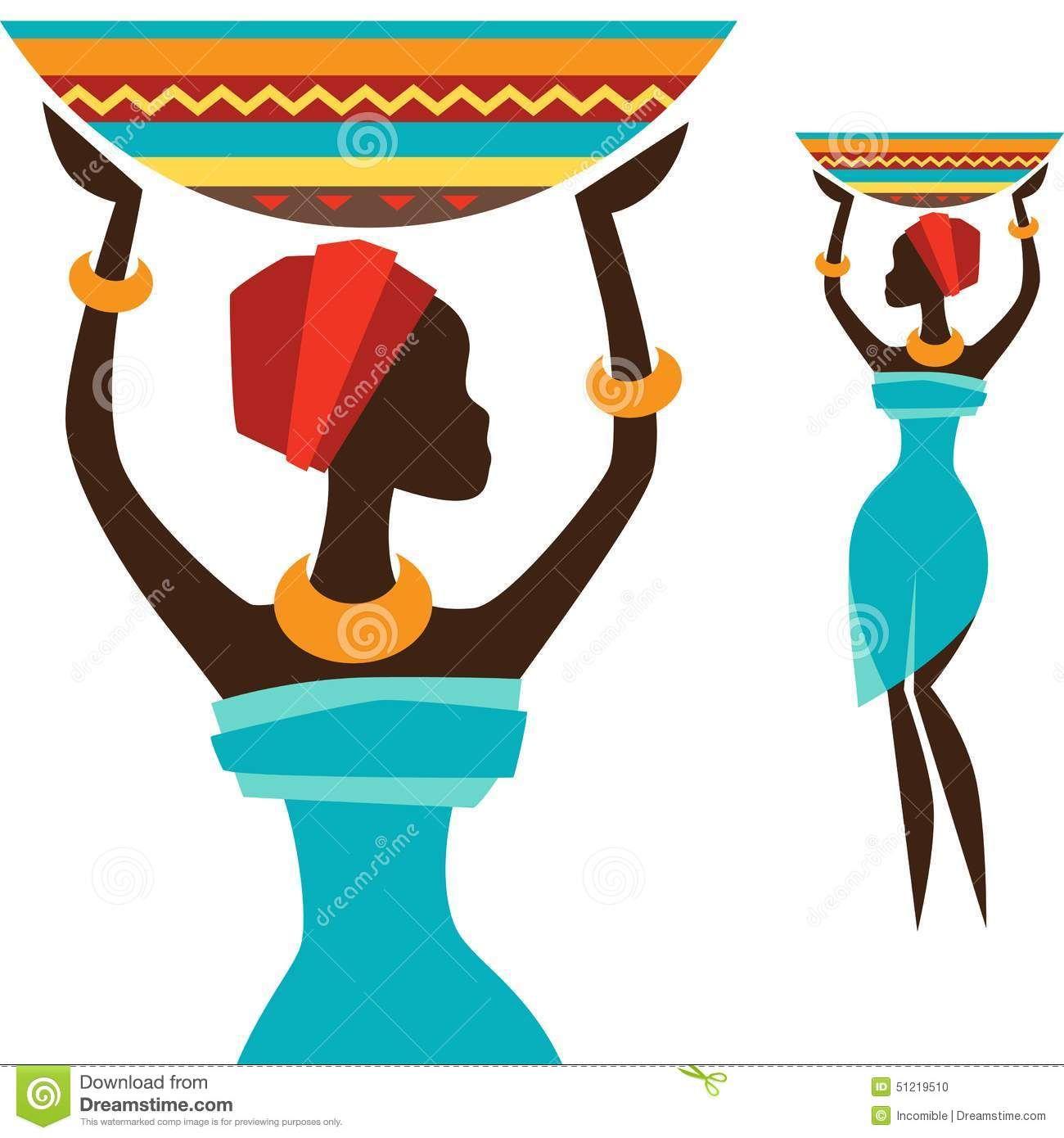 R sultat de recherche d 39 images pour dessin femme - Africaine dessin ...