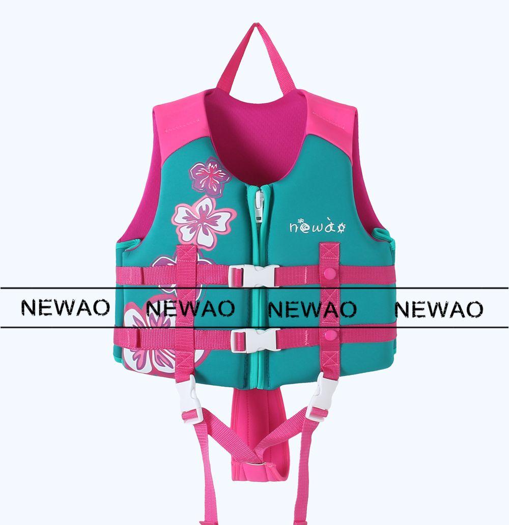 Newao Kids Life Vest Life Jacket Swim Surfing Kids Life Vests