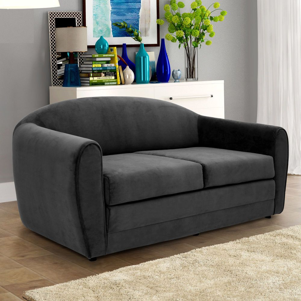 Sofa Features Flip Out Sleeper