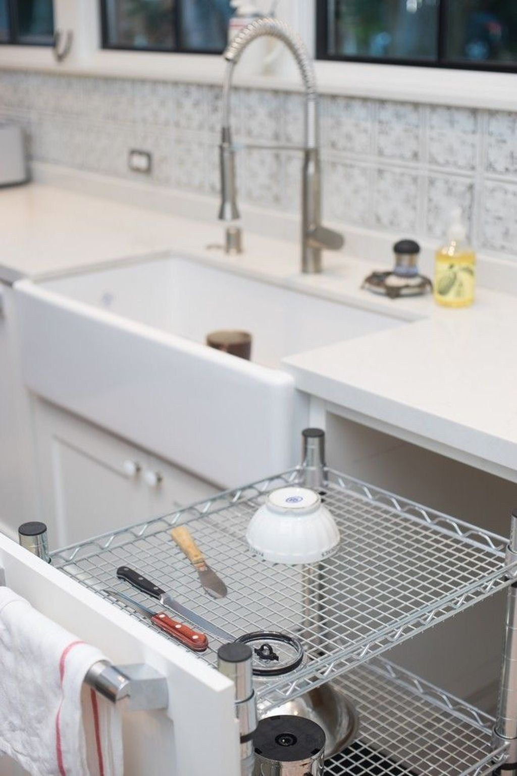 Small And Creative Dish Racks And Drainers Ideas33 Kitchen Rack Drying Rack Kitchen Kitchen Design
