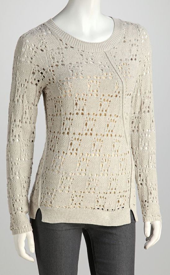 Light Taupe Square Top
