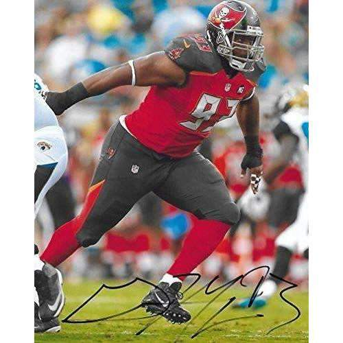 Gerald Mccoy, Tampa Bay Buccaneers, Bucs, Oklahoma, Sooners, Signed, Autographed, 8X10 Photo, a COA with the Proof Photo of Gerald Signing Will Be Included.
