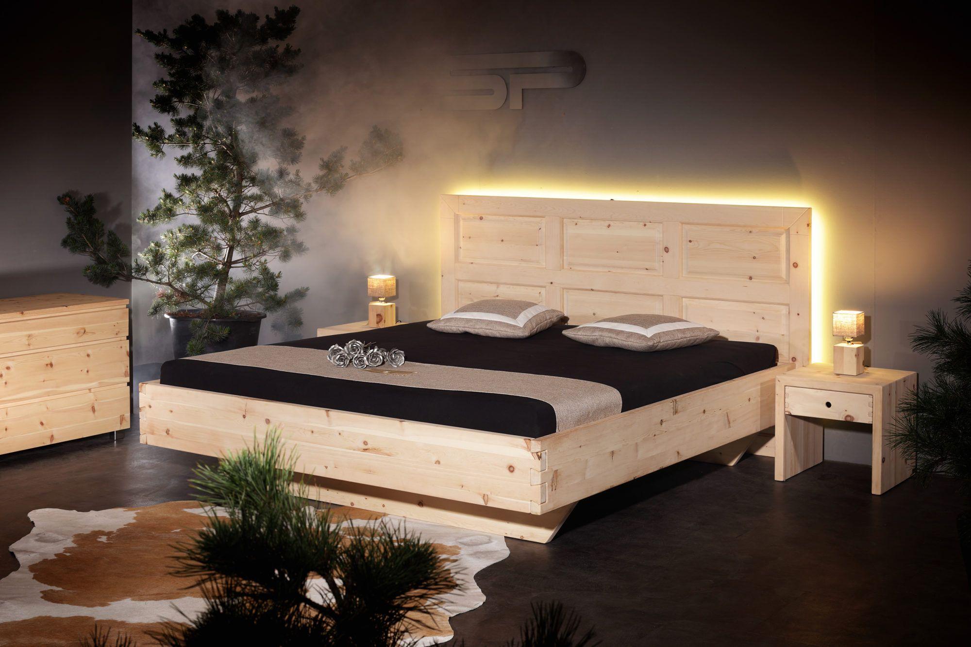 Arve Zirbe Alpine Arve Zirbe Mit Ihren Wissenschaftlich Belegten Positiven Eigenschaften Bessere Schlafqualitat Und Raumklima F Bett Haus Rustikales Bett