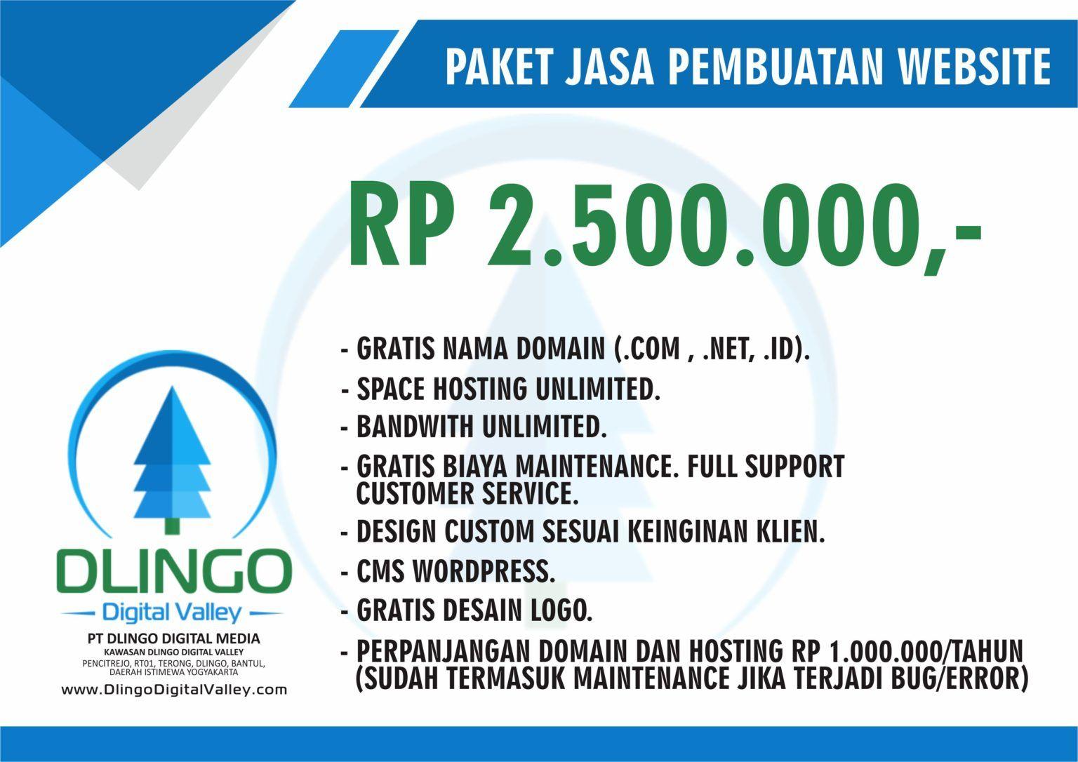 Jasa Pembuatan Website Murah Dan Terpercaya Di Jogja Desain Web Website Rencana Pemasaran