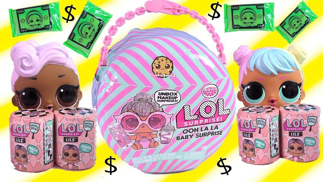 Lot 2 LOL Surprise Big Sister Baby Cat Series 1 Doll /& LIL SISTER Original Doll