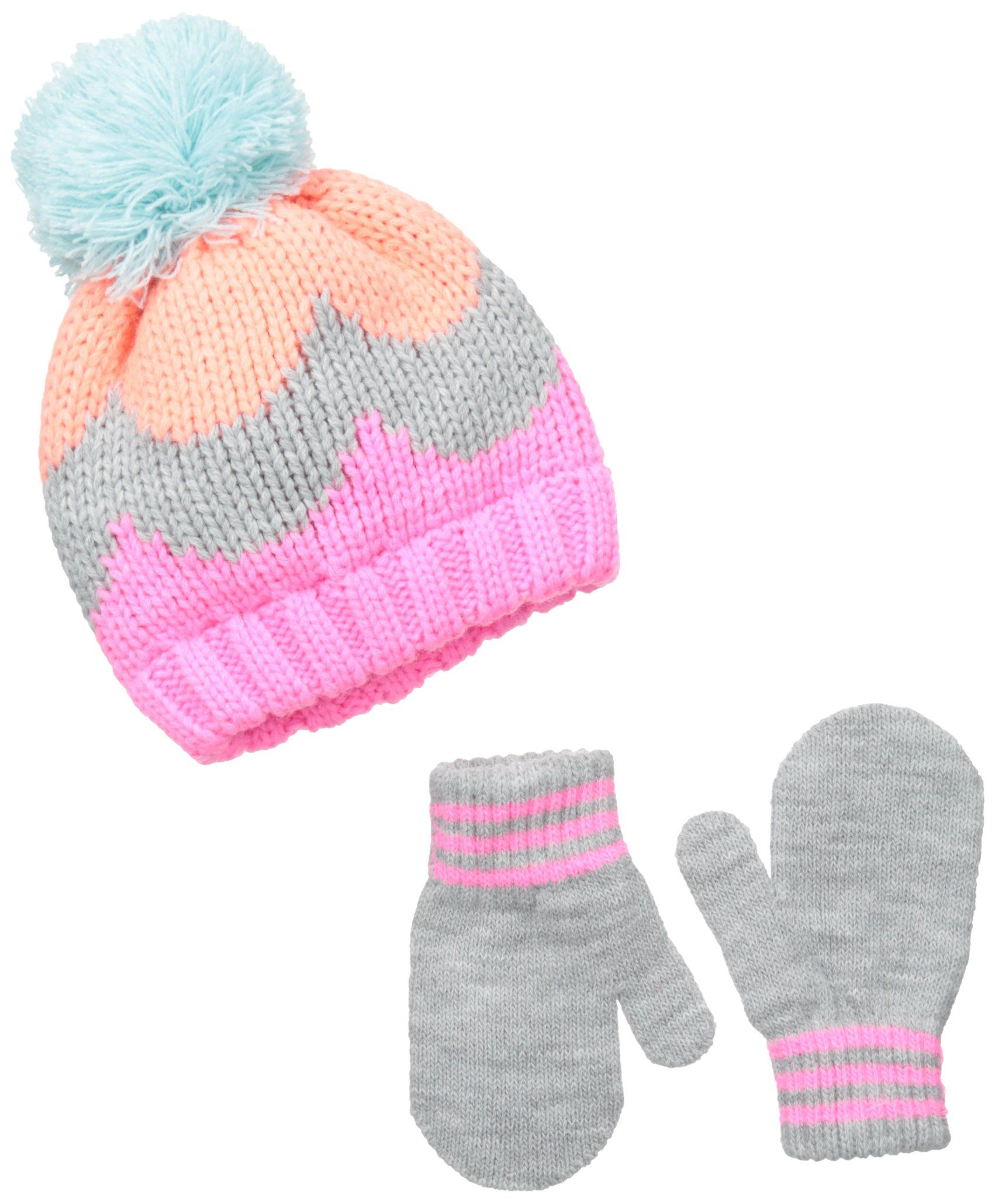 Amazon.com  Carter s Baby Girls  Knit Beanie and Mitt Set 8afb32bffe2f