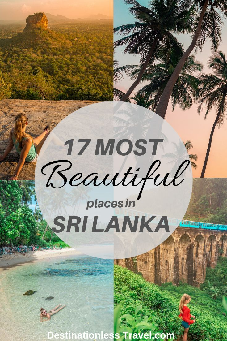 17 Most Beautiful (and unique) Places in Sri Lanka