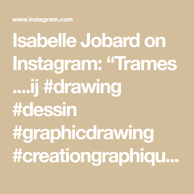 "Isabelle Jobard on Instagram: ""Trames ....ij #drawing #dessin #graphicdrawing #creationgraphique #crayondecouleurs #colors #artdelacouleur #artworkonpaper #coloristartist…"""