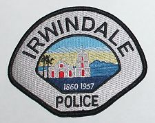 Irwindale Police California Police Police Patches Patches