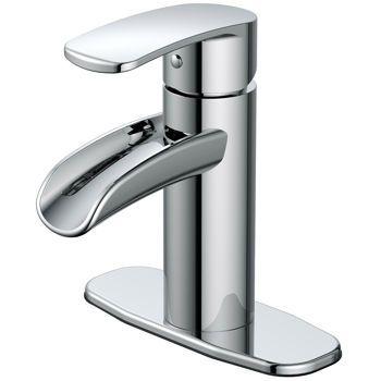 Waterridge Adra Waterfall Bathroom Faucet Bathroom Faucets