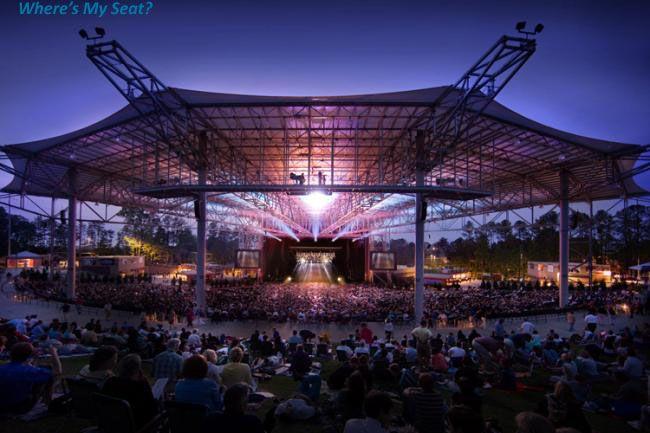 Pnc Music Pavilion Amphitheater Concert Venue Music Venue