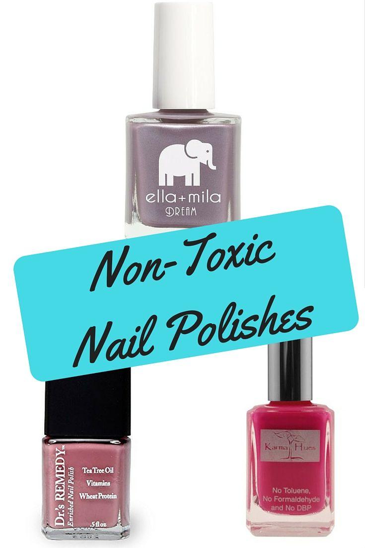 Nail Polish Brands With Toxic Trio - Nail Ftempo
