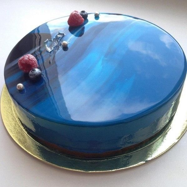 The secret of the mirror glaze for the cake ...