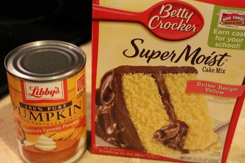 recipe: pumpkin cake recipe with yellow cake mix [28]