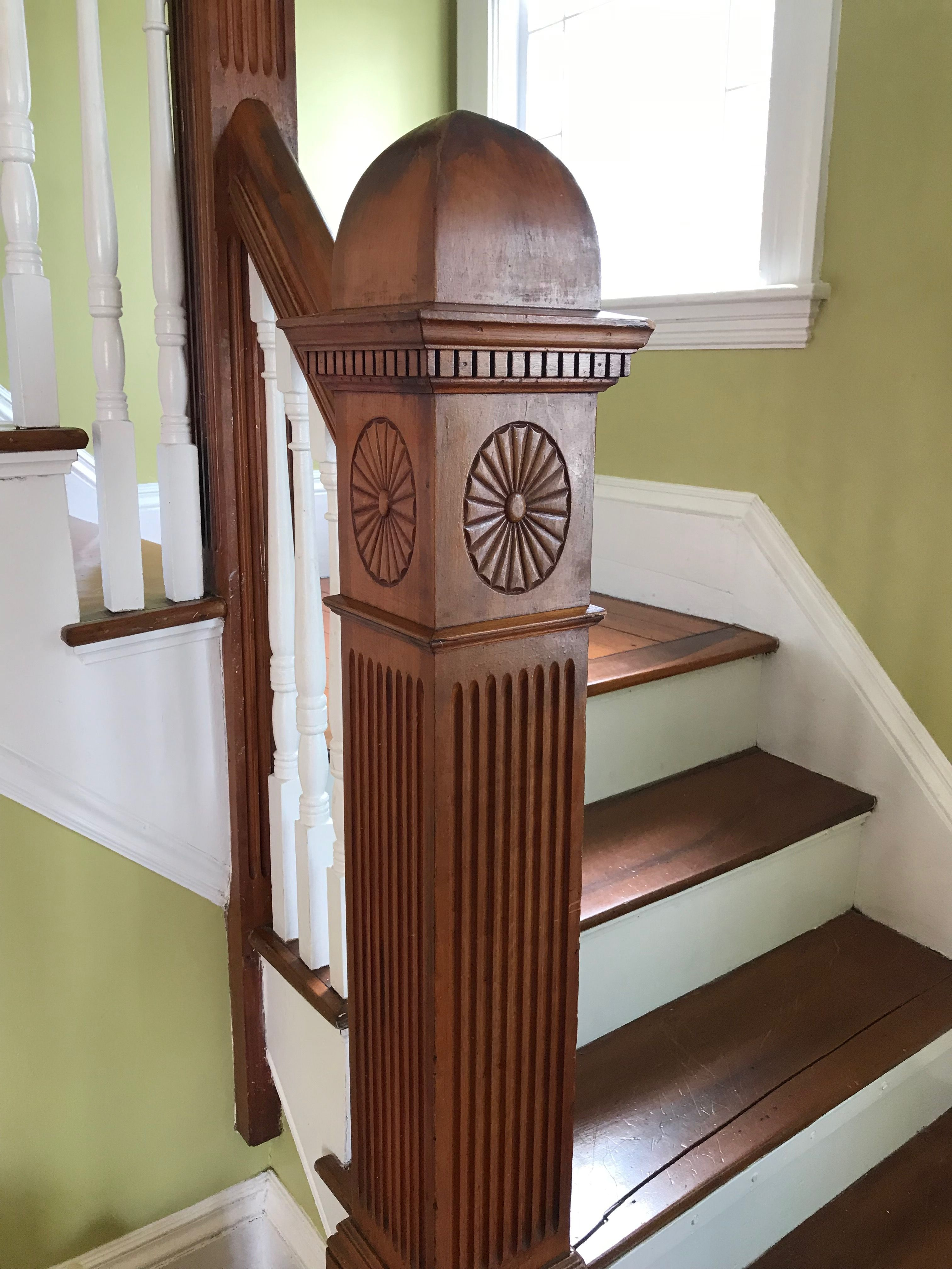 Victorian Newel Post Architecture House Home Decor Home