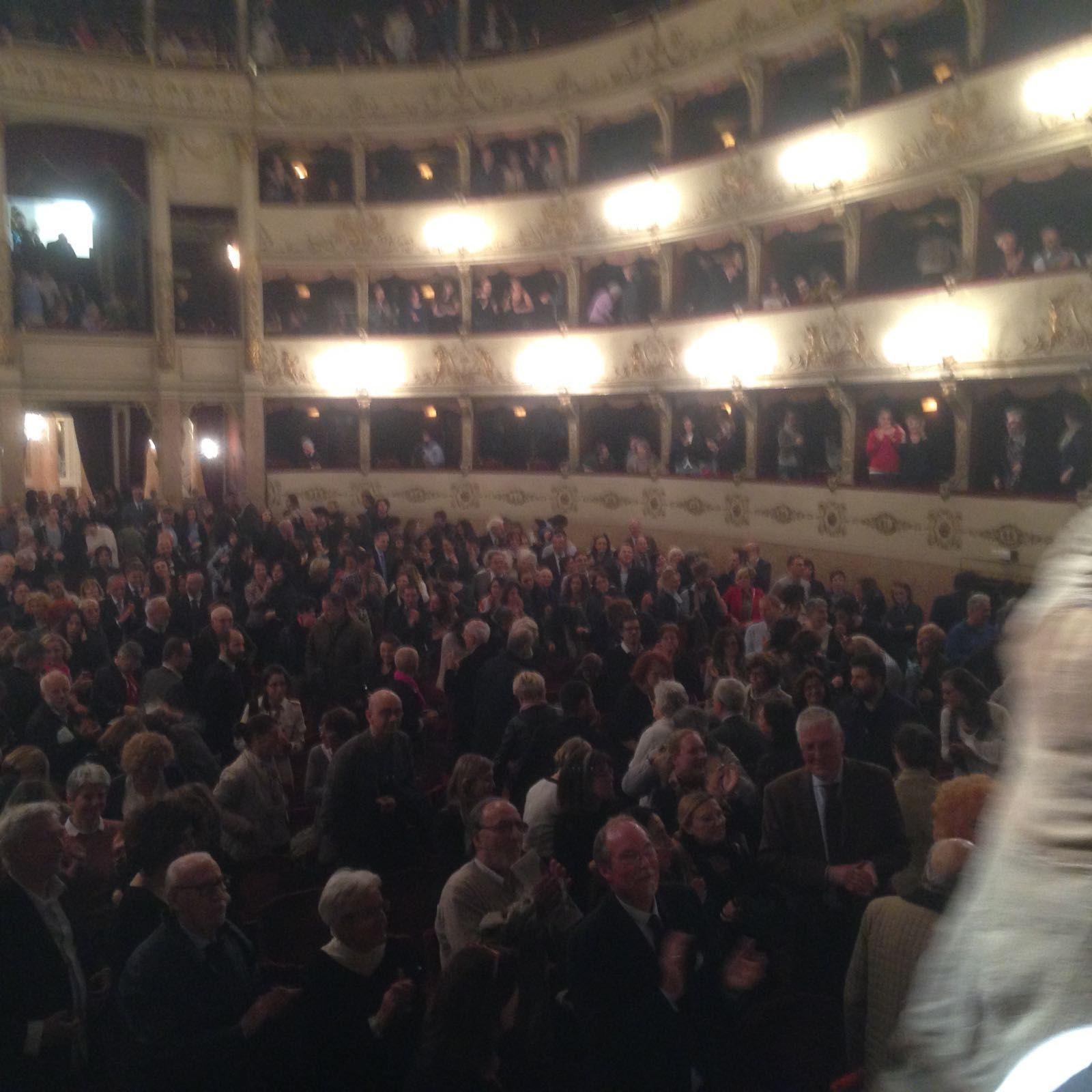 3 maggio 2016 Teatro della Pergola Firenze il Pubblico