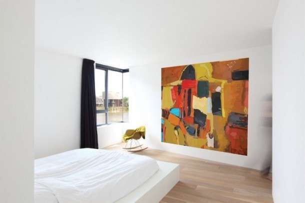 Quadri per la camera da letto - Una grande tela per la ...