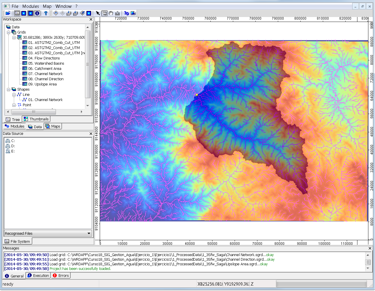 Spatial analysis of an andean ...