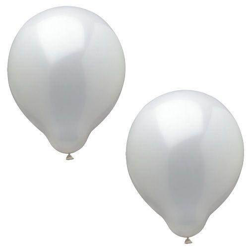 Luftballonset uni weiss bei www.party-princess.de