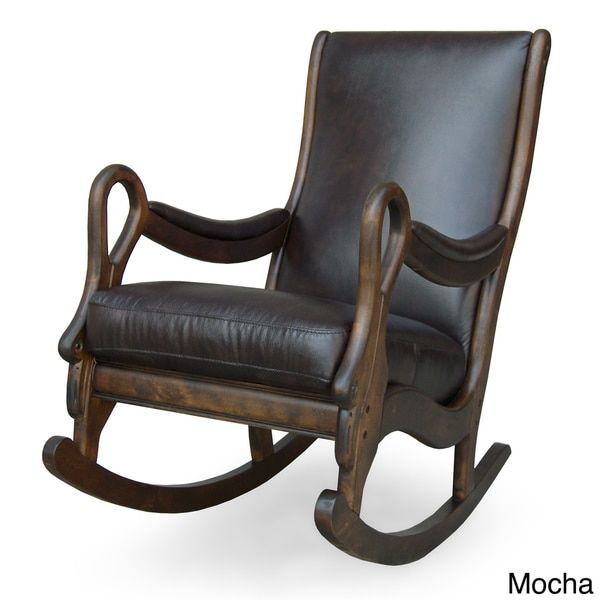 vintage leather rocking chair   rocking chairs, furniture ideas