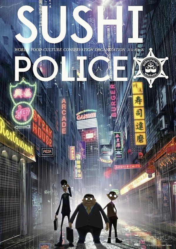 New anime comedy on Tokyo MX TV Sushi Police