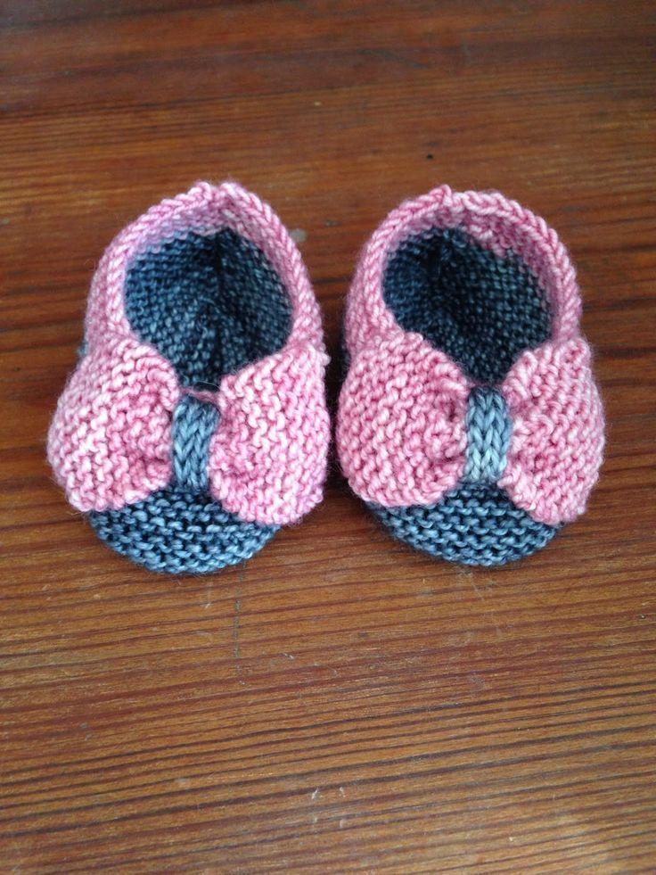 Baby Bootie Knitting Patterns | Tejidos bebe, Bebe y Patios