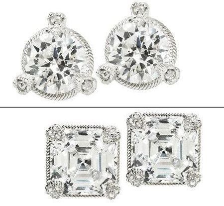 I M Officially A Blogger And Check Out My Spring Picks Judith Ripka Earrings Round Stud Earrings Faceted Earrings