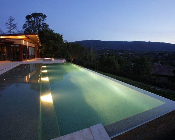 Awesome Lighting · Infinity Edge PoolInfinity PoolsSwimming ...