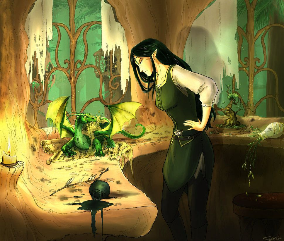 Arya Fan Art Eragon
