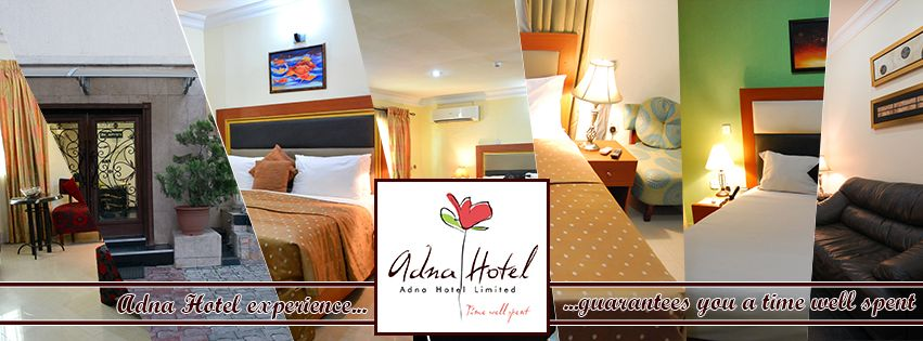 Facebook cover and website banner for Adna Hotel
