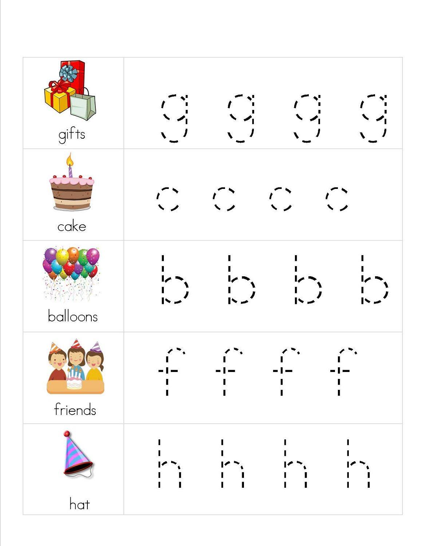 Lower Case Alphabet Worksheets