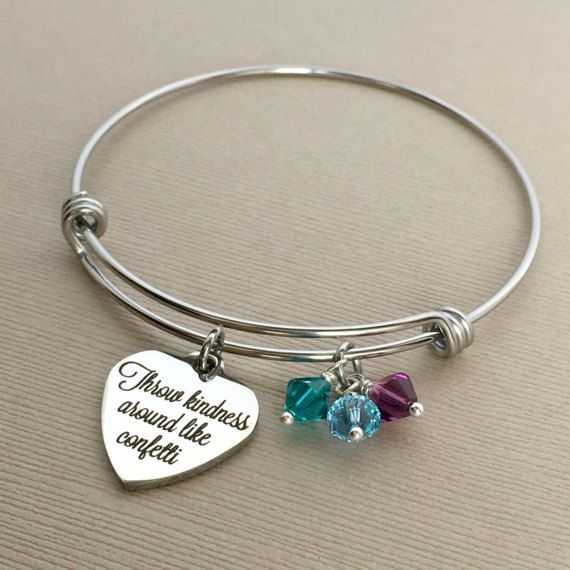 Kindness Bracelet Throw Around Like Confetti