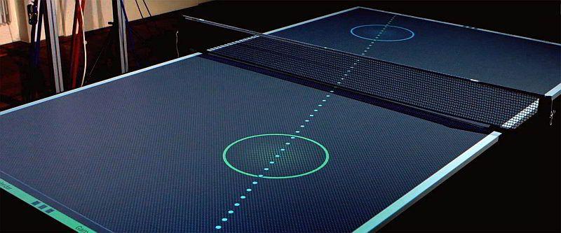 Conheça a mesa de ping-pong virtual   Tecnologia   Pinterest