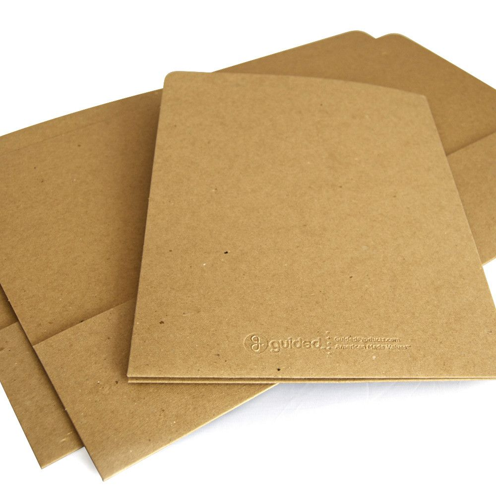 Recycled Presentation Folder - Two Pocket | Presentation folder ...