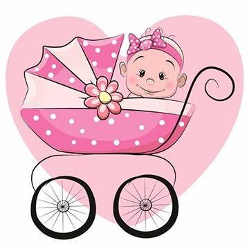 Imagenes Animadas De Bebes Para Baby Shower Dibujo Bebe Nina Dibujo De Bebe Historieta Graciosa