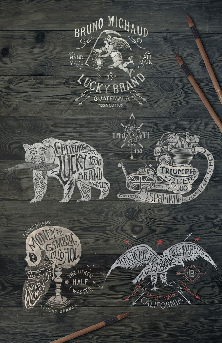 BMD for Lucky Brand / bmd design