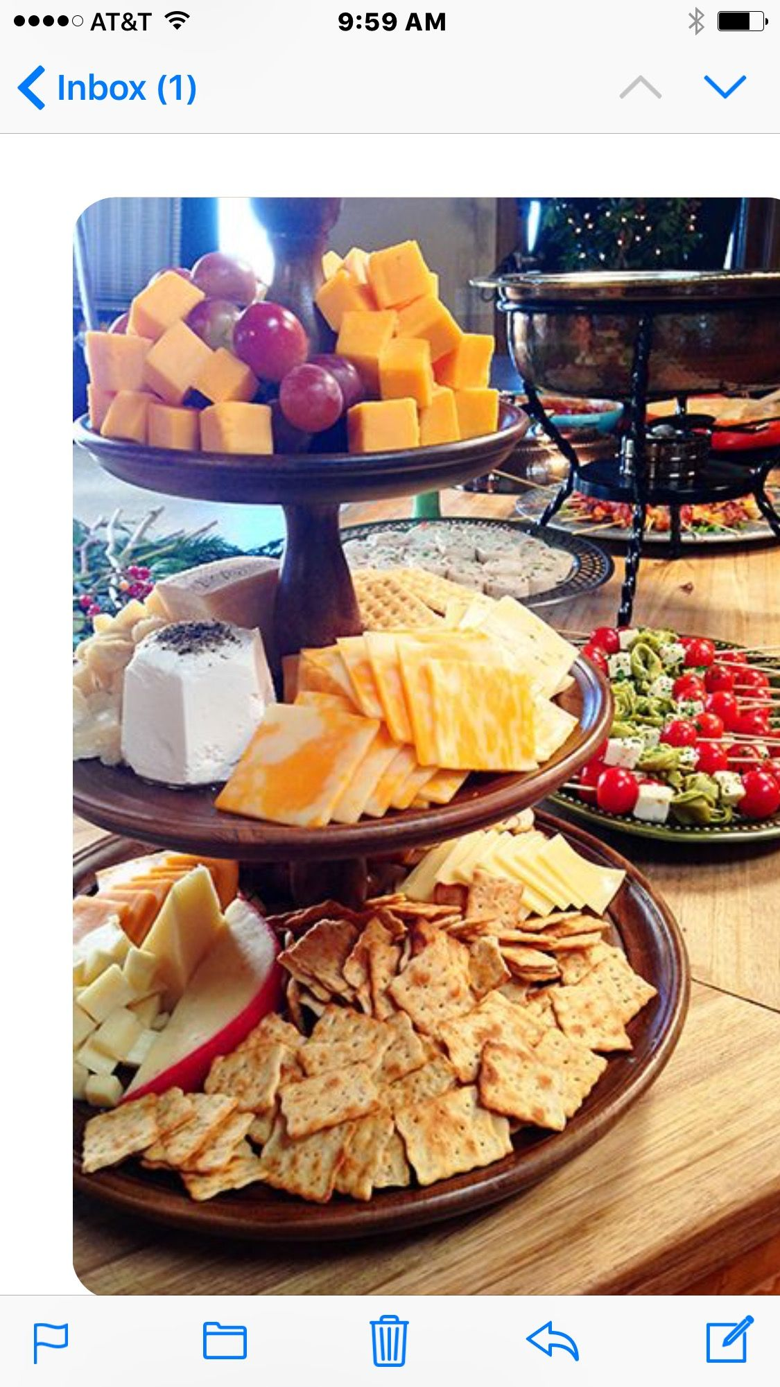 Christmas Lunch Party Ideas Part - 20: Cheese Platter Easy Holiday Party Ideas - Courtesy Of The Pioneer Woman,  Ree Drummond.
