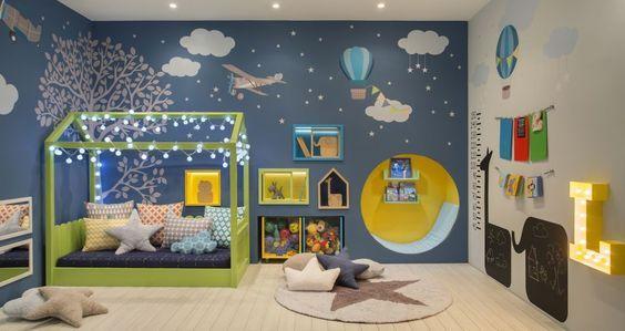 Decoraci n para la habitaci n de ni os habitaciones - Decoracion habitacion infantil pequena ...