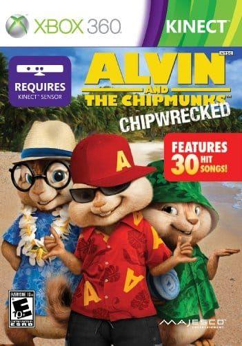 Disponible Alvin Y Las Ardillas Para Kinect De Xbox 360 Con Entrega