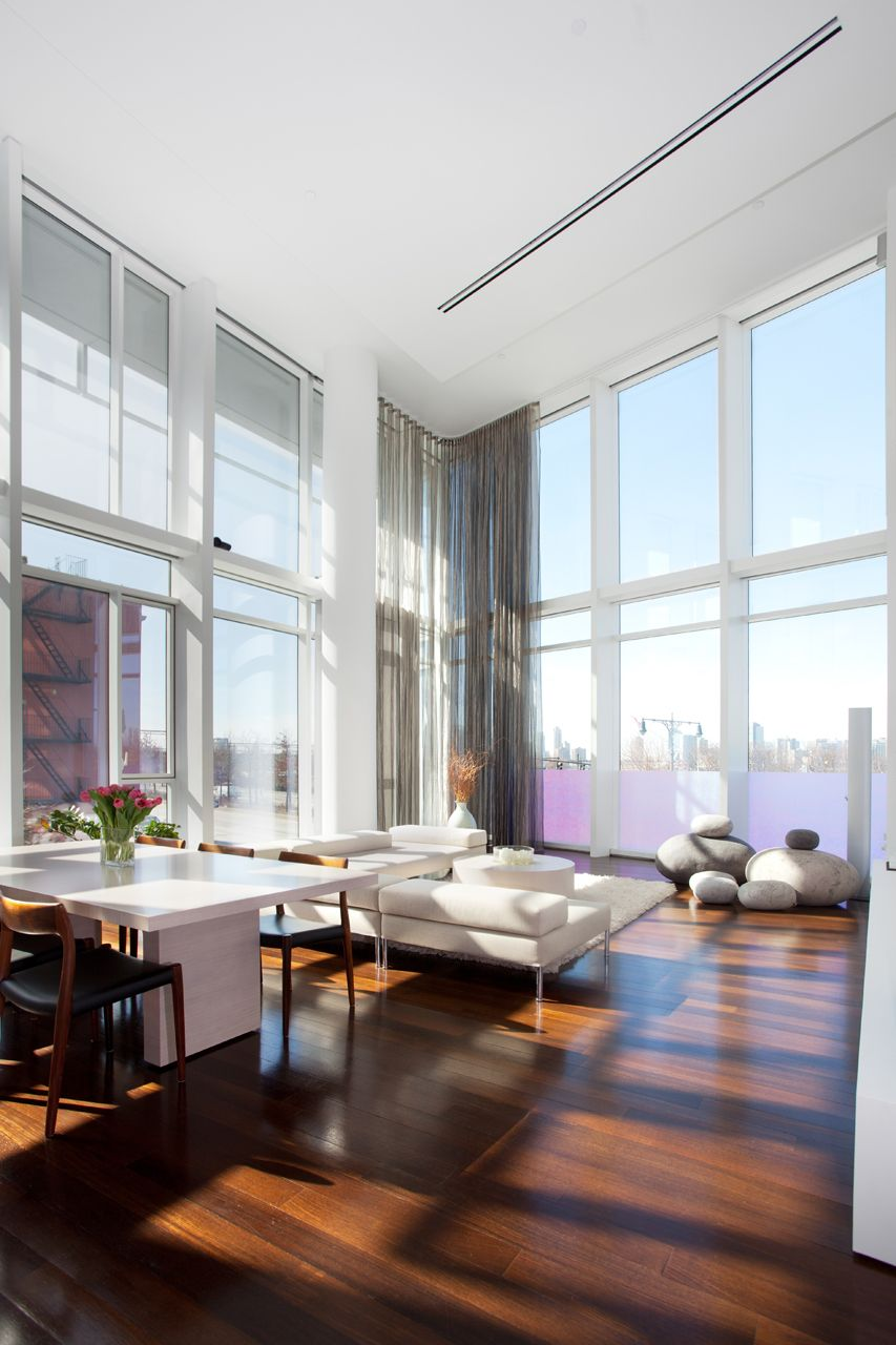 15 Interiors with High Ceilings | West village, Manhattan and Modern ...