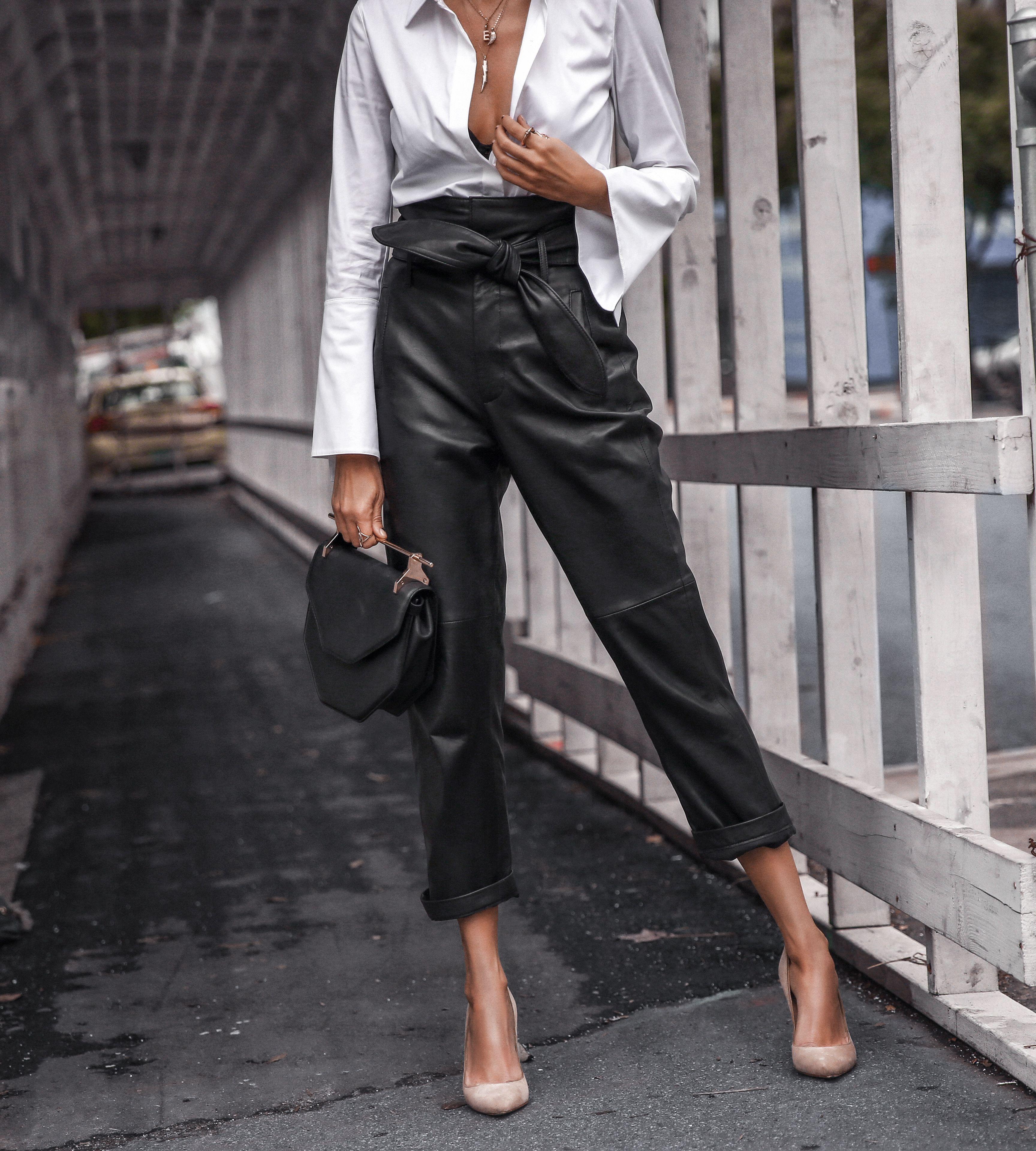 Relajado en cuero |  DE MODA  – Moda