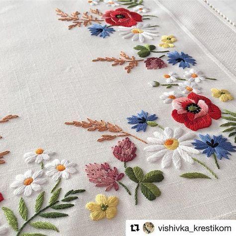 Vishivkakrestikom Broderie Bordado Embroidery Ricamo
