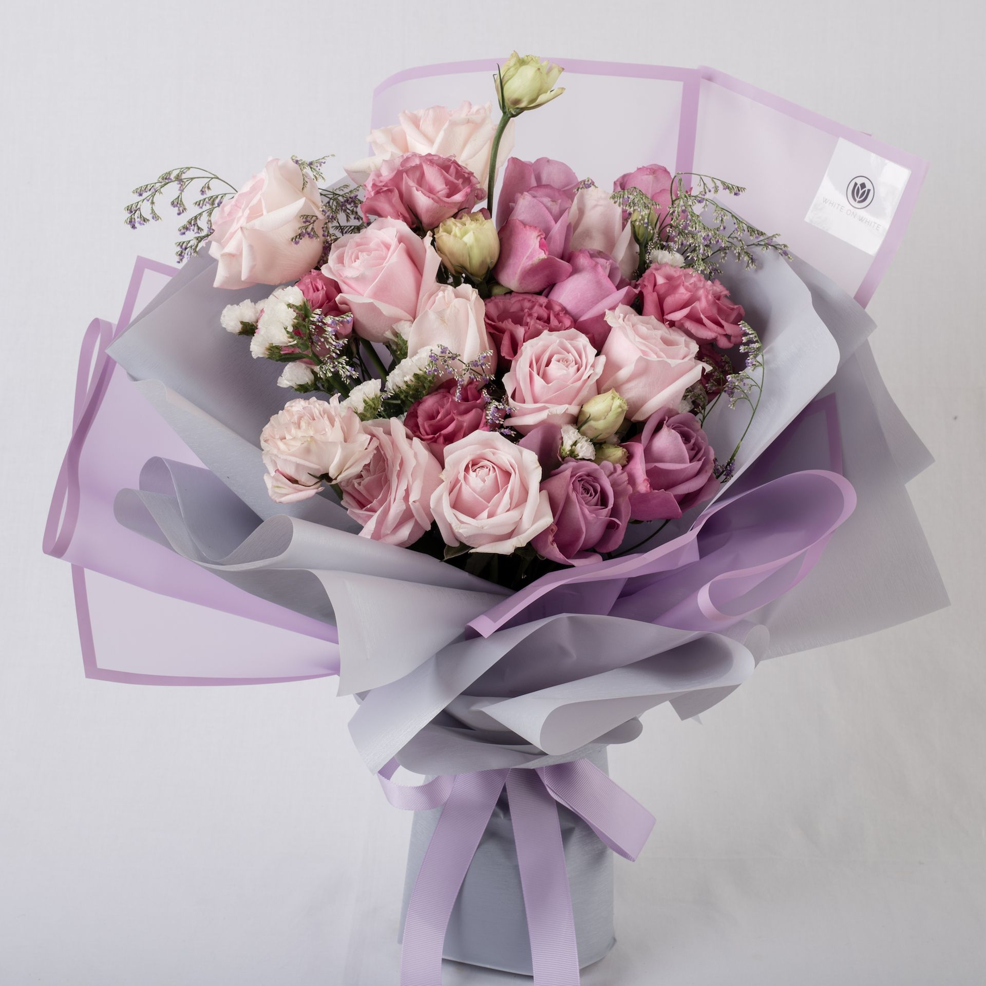 Bouquet Of Light Pink Purple Check Out Our Site For More Ideas And Inspiration Flowers Bouquet Gift Purple Flower Bouquet Birthday Flowers Arrangements