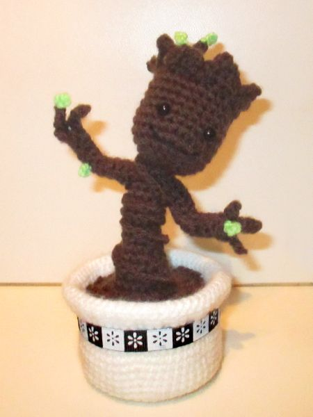 Meine Anleitungen Amigurumi Crochet Crochet Baby Und Baby Groot