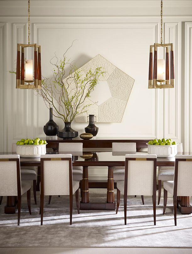 Baker Furniture Dining Room Table