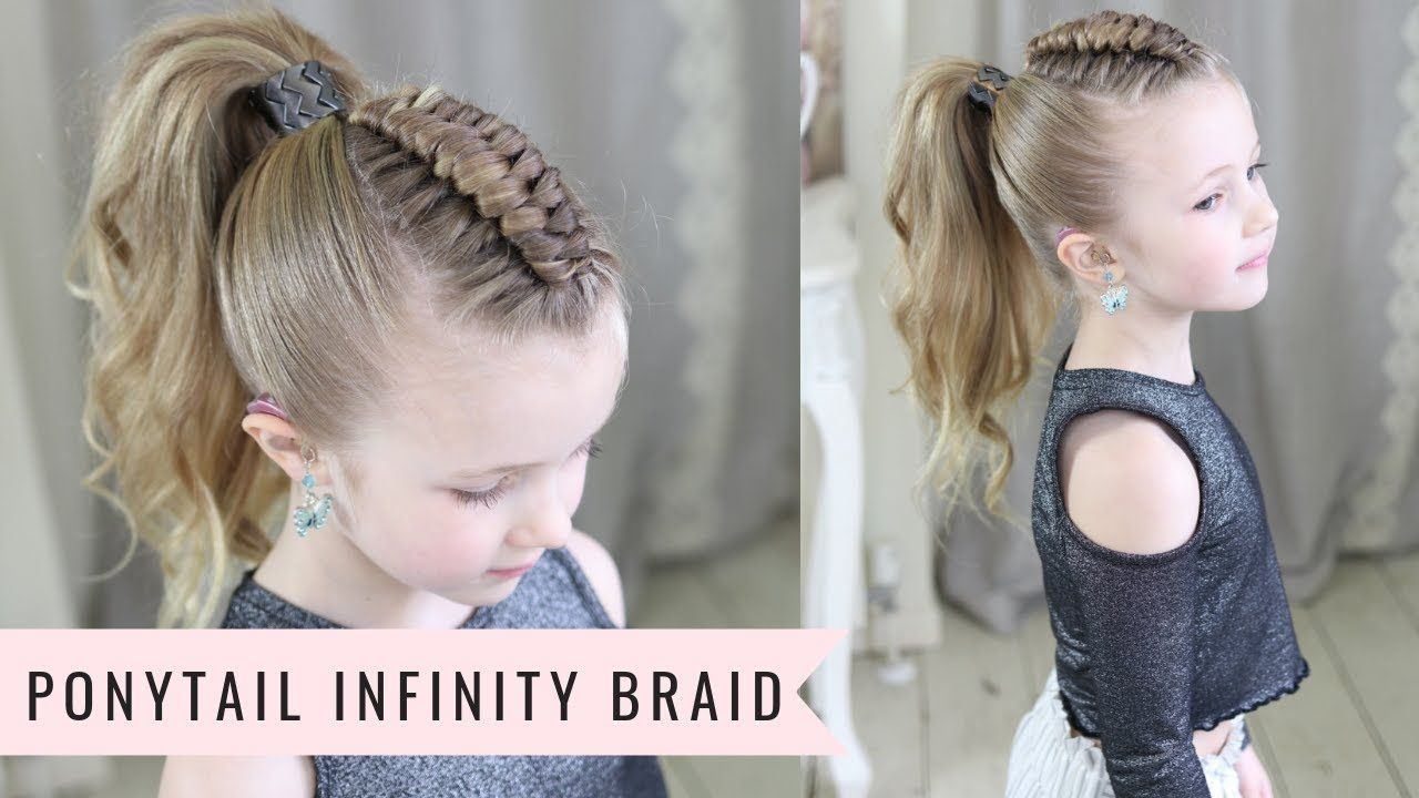 Ponytail Infinity Braid By Sweethearts Hair Youtube Girl Hair Dos Braided Hairstyles Infinity Braid
