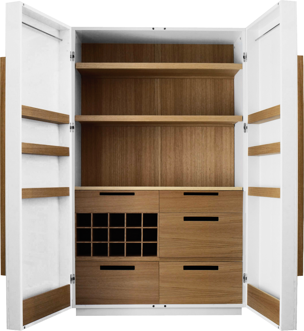 CORNELL armoire de cuisine laquée - Habitat  Armoire de cuisine