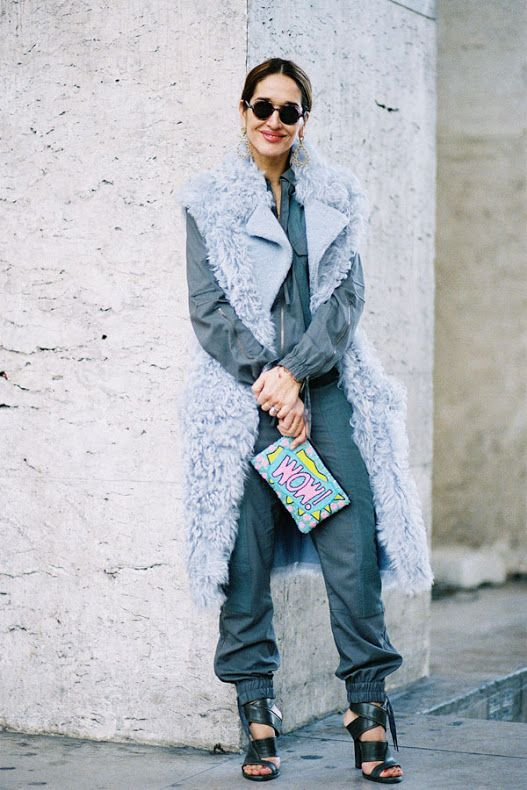 Paris Fashion Week AW 2015.Ulyana (Vanessa Jackman