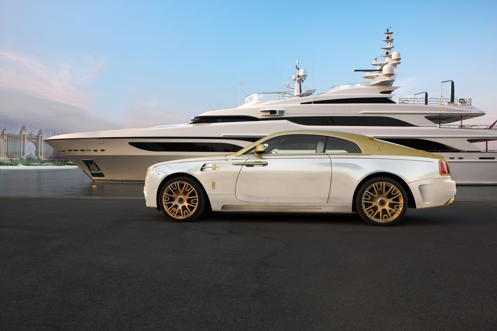 Is mansory s gold plated wraith palm edition 999 the most opulent rolls royce ever